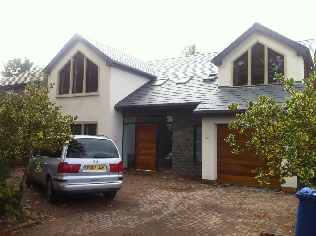 garage door colours ideas uk - House Remodelling Cheshire